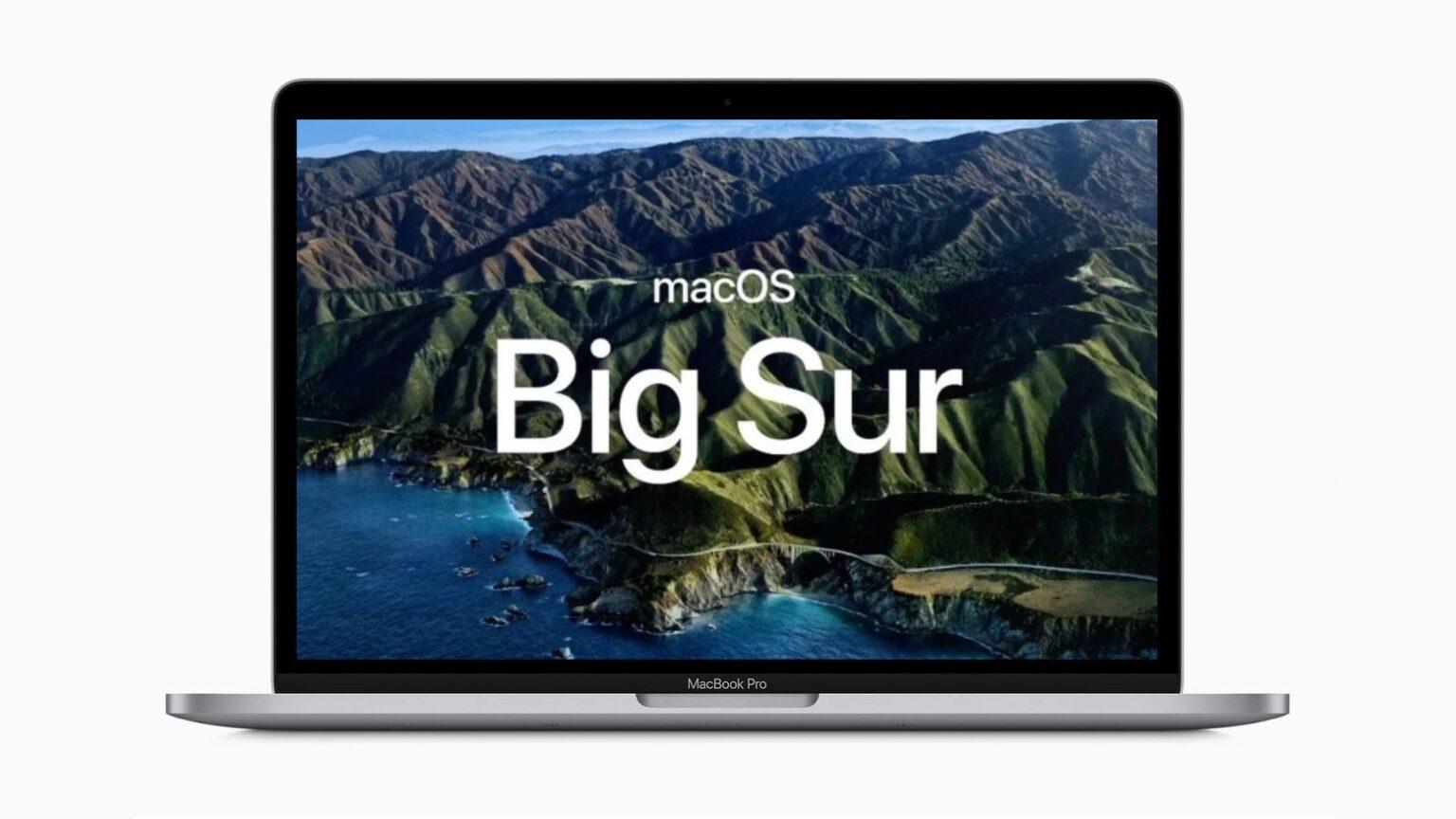 macOS 11.1 beta 1 se lanzó a los desarrolladores el 17 de noviembre.