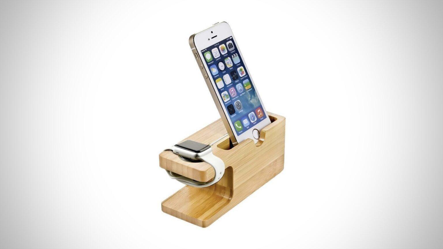 Base para iPhone y Apple Watch
