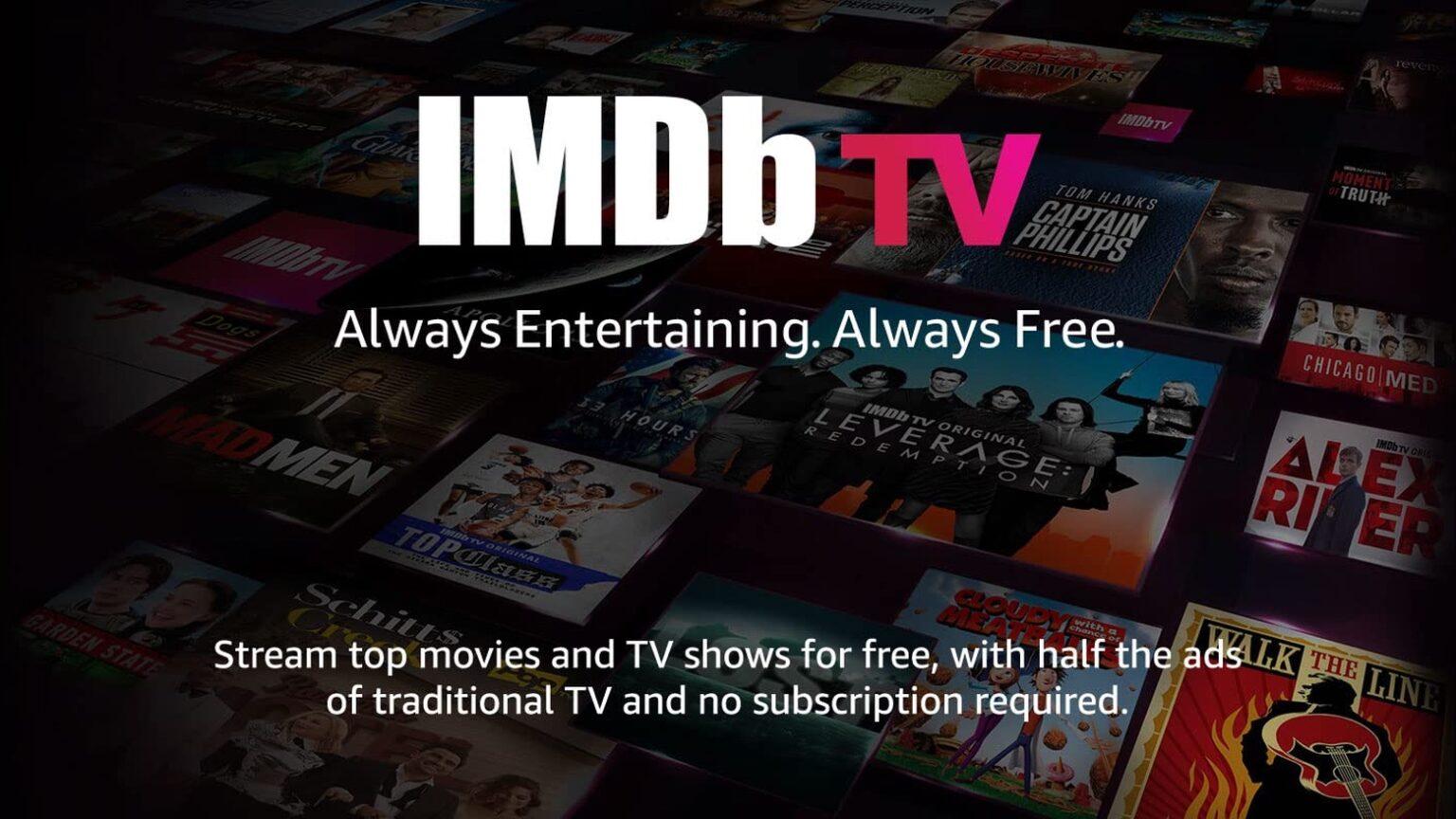 El servicio gratuito de IMDb TV trae películas y programas clásicos a iPhone, iPad