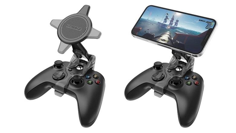 Únase al controlador de iPhone a Xbox con el clip de juego móvil Otterbox para MagSafe